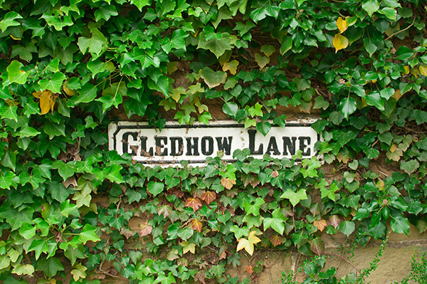 Gledhow Lane sign